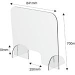 Spuckschutz Plexiglas Var.1